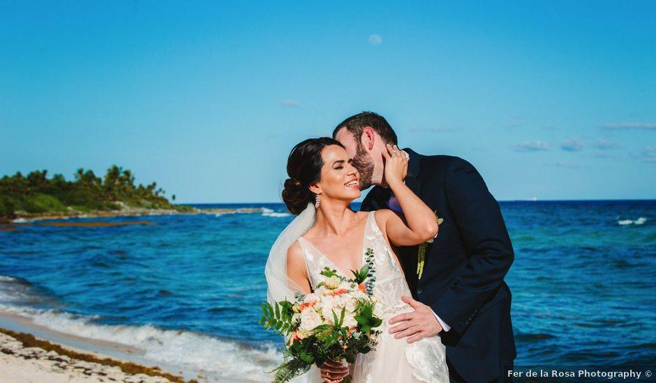 Jason and Lupita's Wedding in Playa del Carmen, Mexico