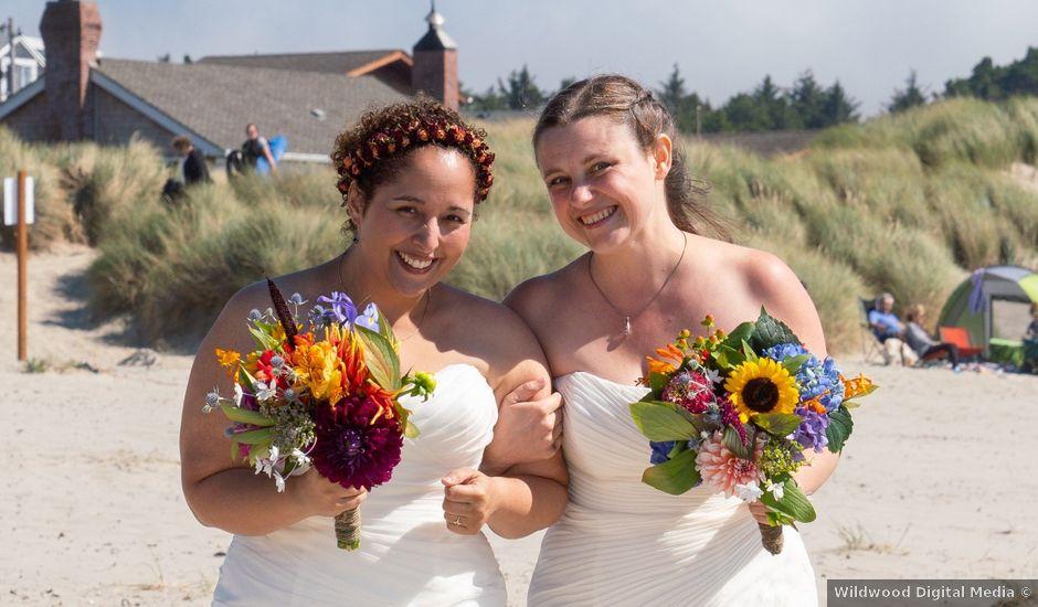 Yesenia and Jesica's Wedding in Manzanita, Oregon