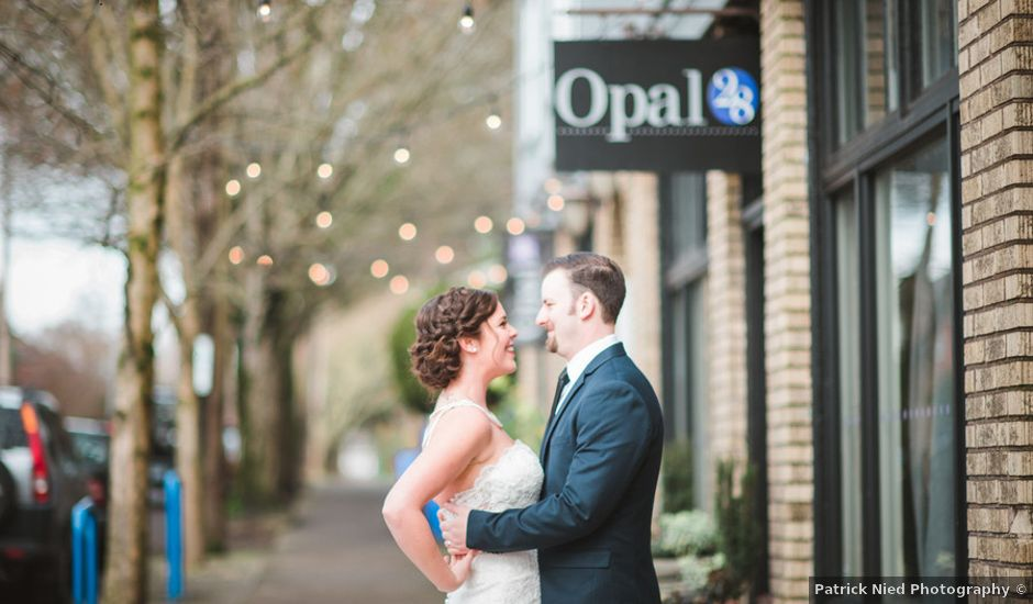 Caitlyn and Anthony's Wedding in Portland, Oregon