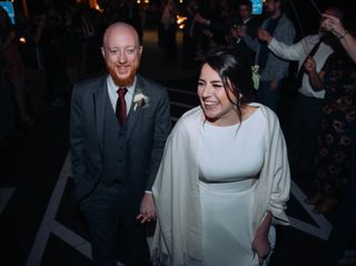 The wedding of Malori and Wes 1