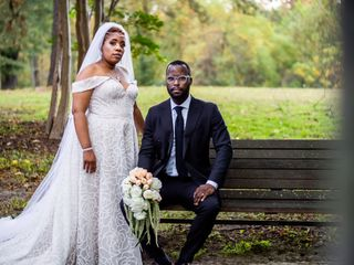 The wedding of Erica and Sharod 1
