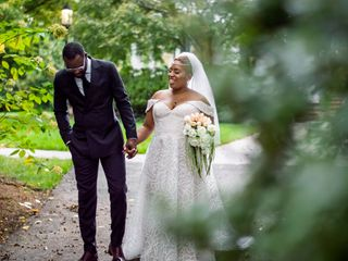 The wedding of Erica and Sharod 2