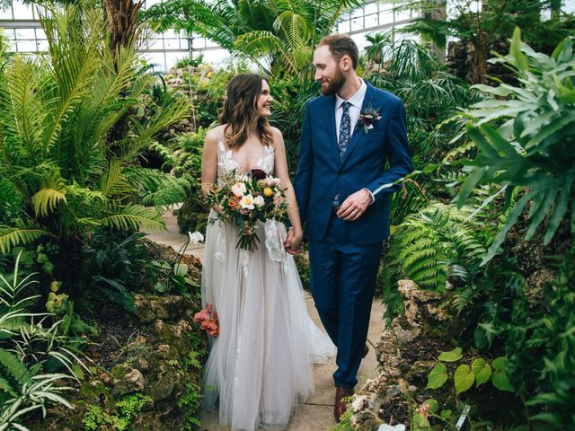 The wedding of Kristen and Micthell