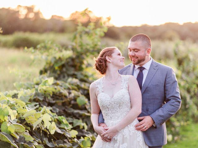 The wedding of Kerri and Chris