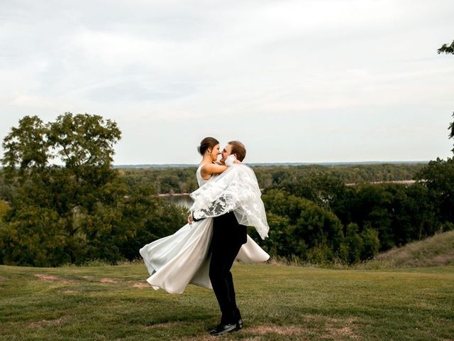 The wedding of Maddie and Dustin