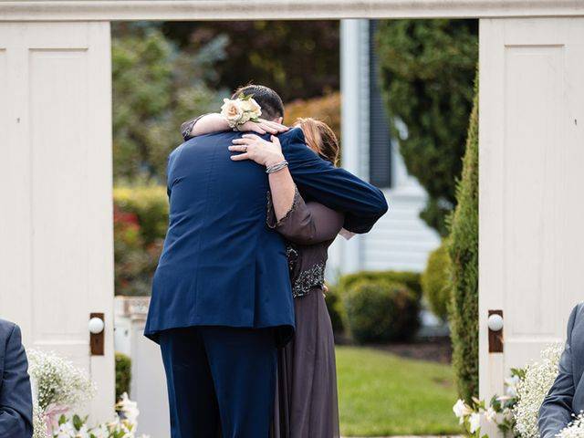 Brian and Corrin's Wedding in Rehoboth, Massachusetts 45