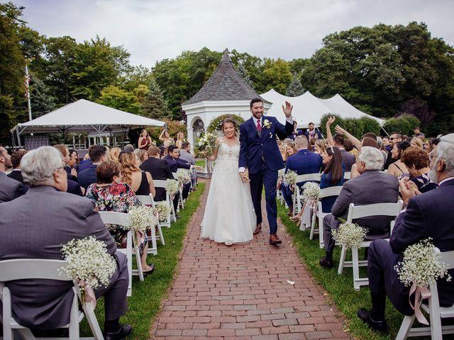 Brian and Corrin's Wedding in Rehoboth, Massachusetts 126