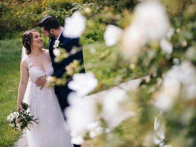 Brian and Corrin's Wedding in Rehoboth, Massachusetts 141