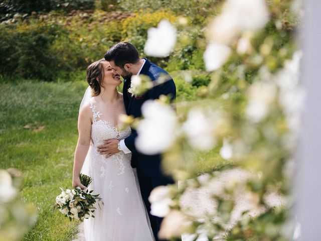 Brian and Corrin's Wedding in Rehoboth, Massachusetts 142
