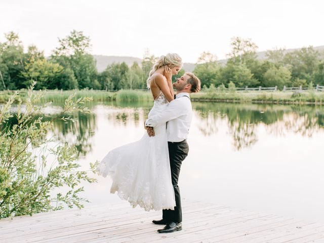 The wedding of Katelin and Eric