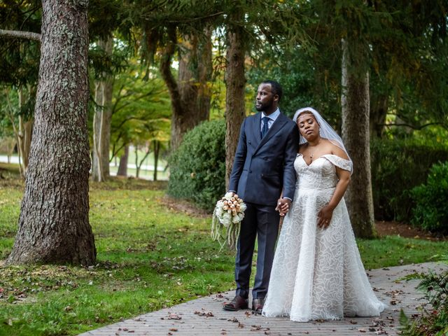 The wedding of Erica and Sharod