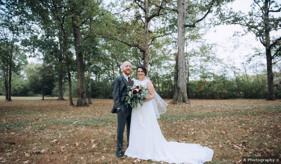 Wes and Malori's Wedding in Maryville, Tennessee