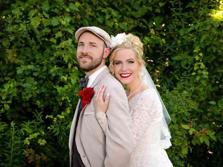 The wedding of Ellen and Jonathan