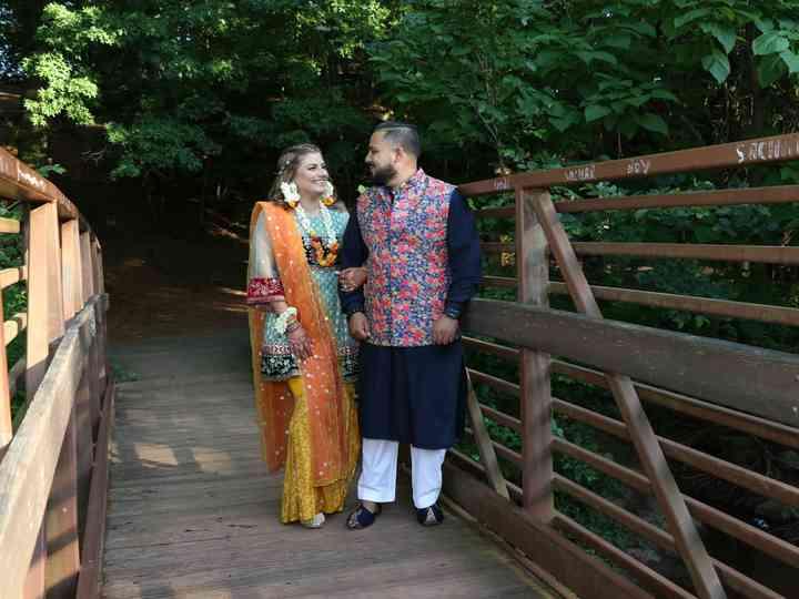 The wedding of Laraib and Amad