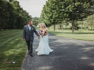 The wedding of Charles and Crystal
