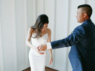 The wedding of Jennifer and Cuong