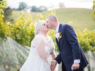 The wedding of Kristina and Greg