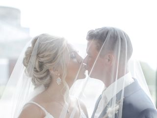 The wedding of Kristen and Matt 1