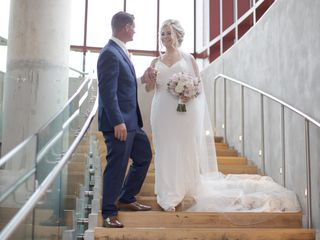 The wedding of Kristen and Matt