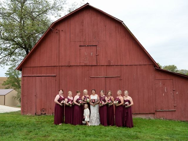 Chad and Lynn's Wedding in Le Claire, Iowa 1