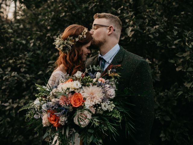 The wedding of Anna and Andrew