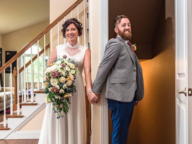 The wedding of Kayla and Gideon