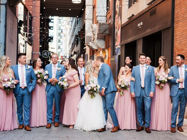 Kyle and Nicole's Wedding in Detroit, Michigan 13