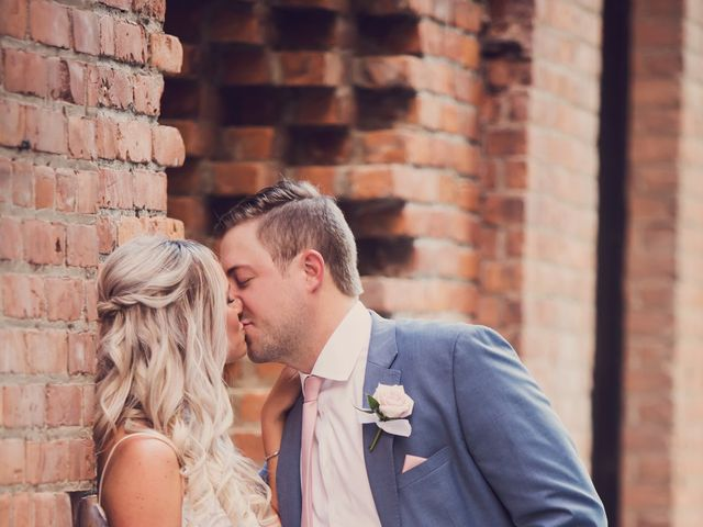 Kyle and Nicole's Wedding in Detroit, Michigan 14