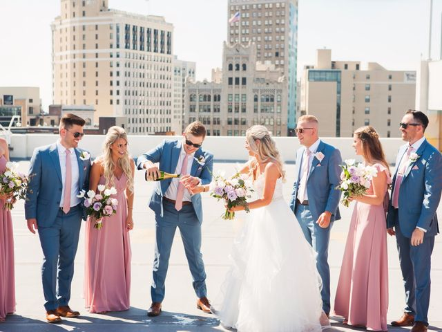 Kyle and Nicole's Wedding in Detroit, Michigan 16
