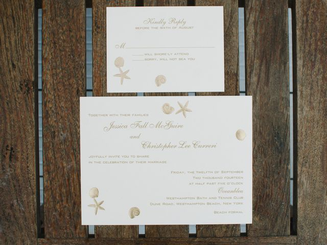 Jessica and Christopher's Wedding in Westhampton Beach, New York 1