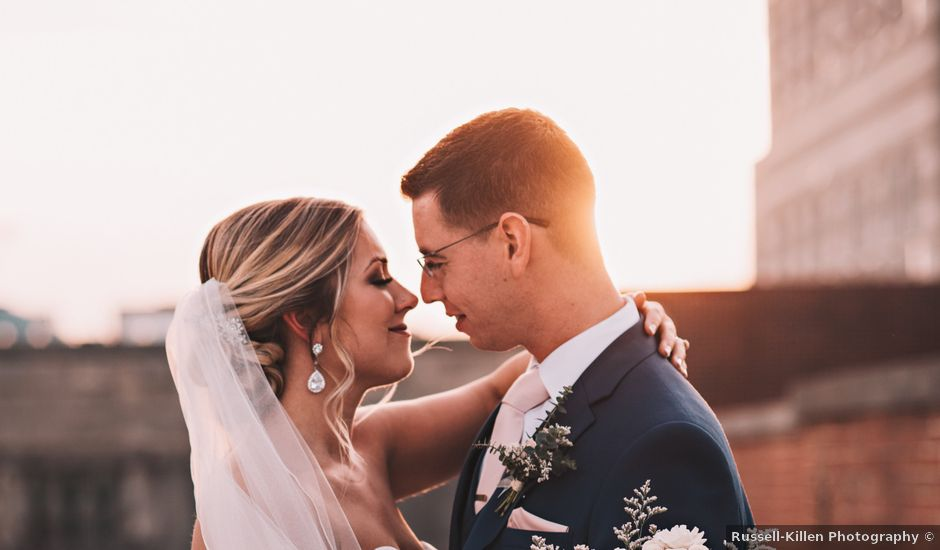 Katelyn and Alex's wedding in North Carolina