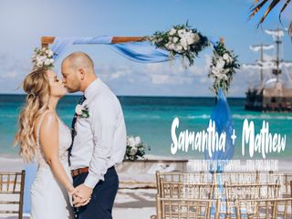 The wedding of Samantha and Mathew 1