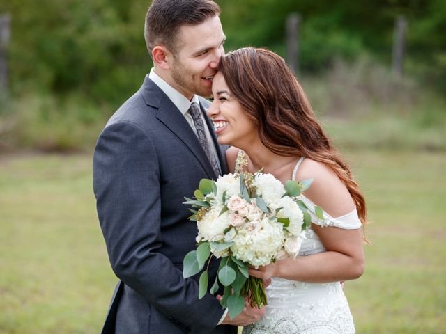 The wedding of Arely and Shane