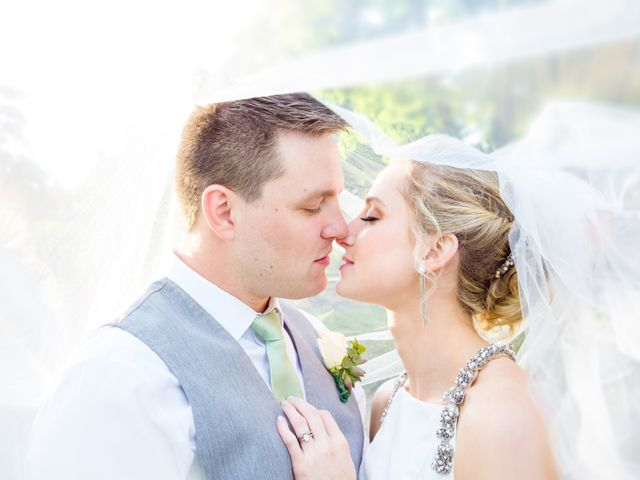 The wedding of Madeline and Brandon