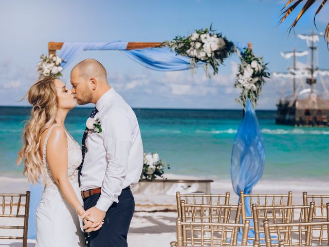 The wedding of Samantha and Mathew
