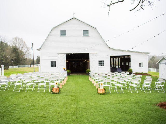 Drew and Victoria's Wedding in Trinity, North Carolina 4