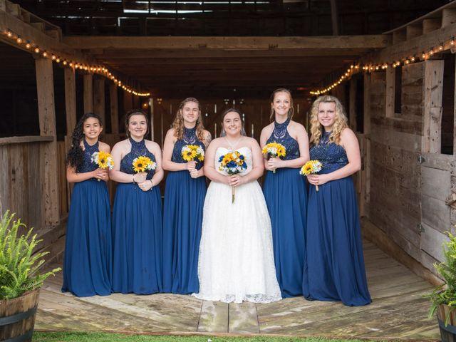 Drew and Victoria's Wedding in Trinity, North Carolina 8