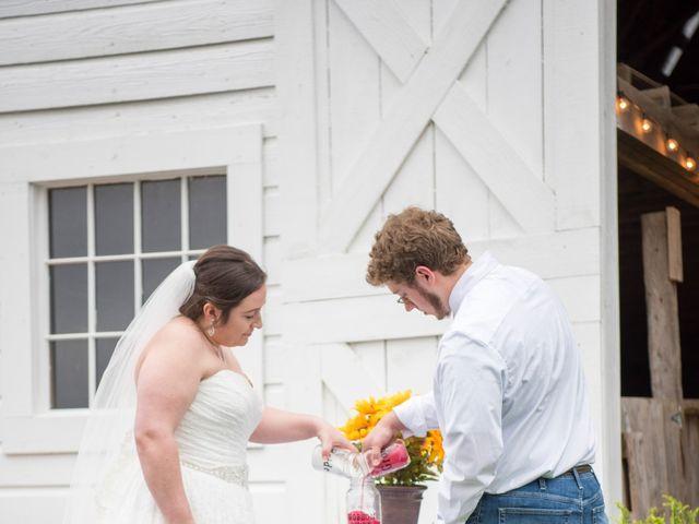 Drew and Victoria's Wedding in Trinity, North Carolina 11