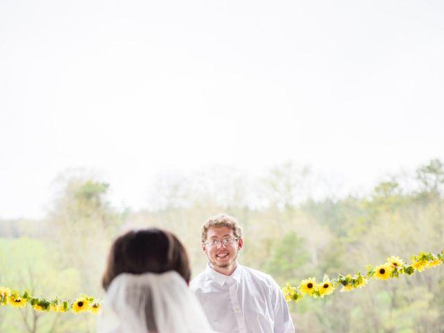 Drew and Victoria's Wedding in Trinity, North Carolina 12