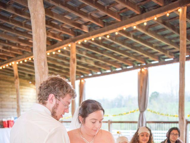 Drew and Victoria's Wedding in Trinity, North Carolina 18