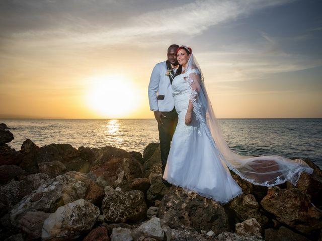 The wedding of Jeffery and Bettina