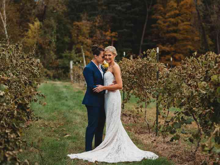 The wedding of Michele and Kimberly