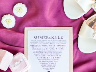 The wedding of Sumer and Kyle 3
