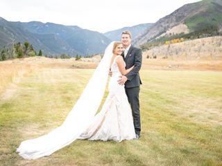 The wedding of Ashley and Britan