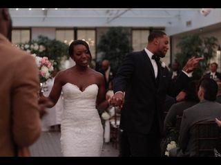 The wedding of Jasmine and Tyshaun 2