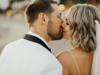 The wedding of Courtney and Jake