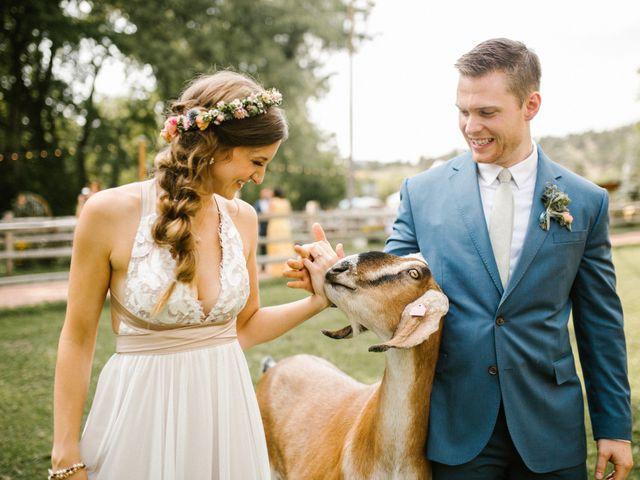 Zach and Brit's Wedding in Lyons, Colorado 1