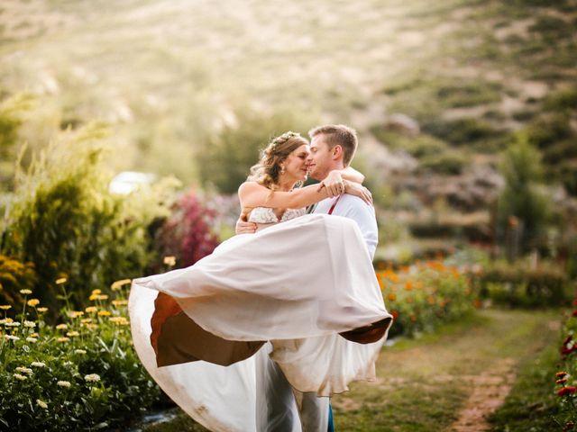 Zach and Brit's Wedding in Lyons, Colorado 2