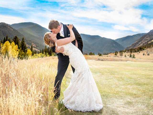 Britan and Ashley's Wedding in Red Lodge, Montana 3