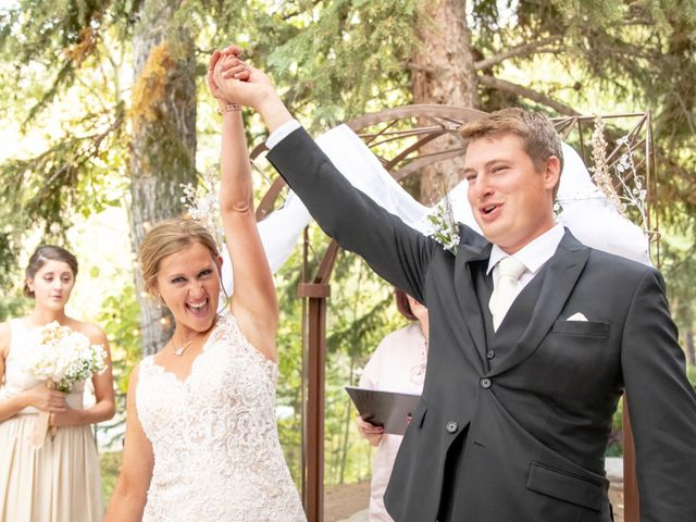 Britan and Ashley's Wedding in Red Lodge, Montana 2